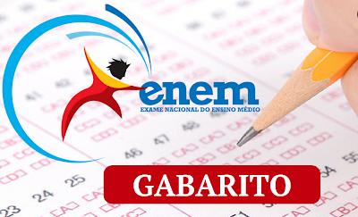 Confira  os gabaritos extraoficiais do 1° dia de prova do Enem 2017