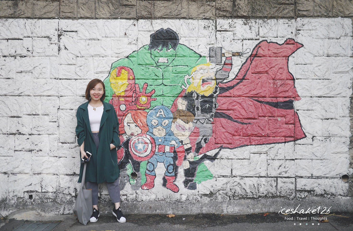Seoul 2016 ihwa mural village the smell after rain for Mural village seoul