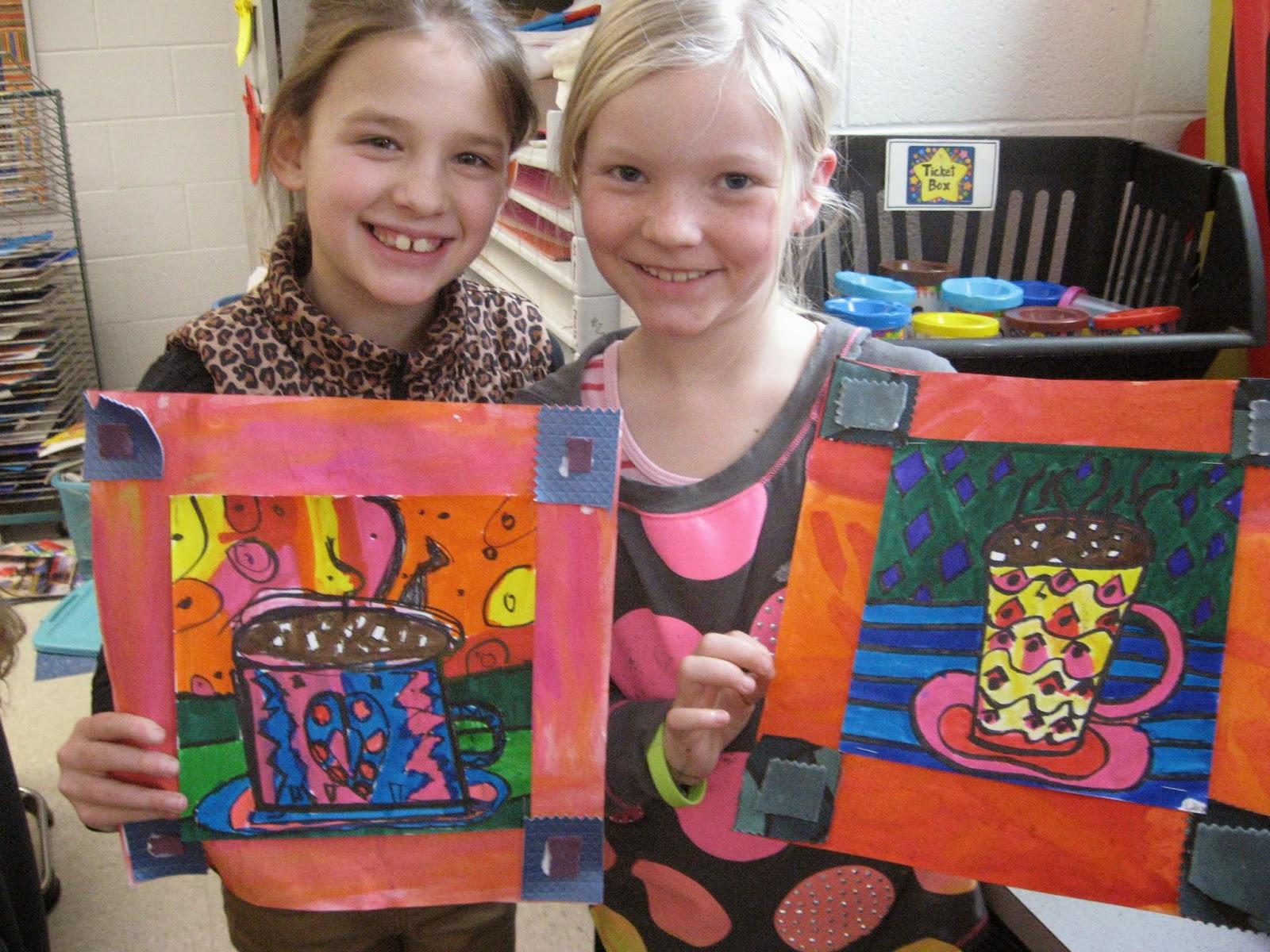 Jamestown Elementary Art Blog 2nd Grade Faith Ringgold Mugs