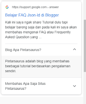 Belajar FAQ Json-ld di Blogger