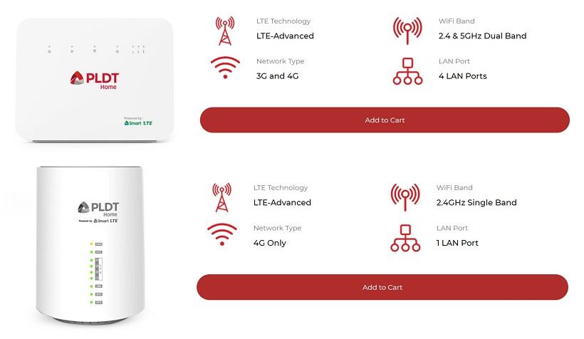 PLDT Home WiFi Prepaid Review Comparison