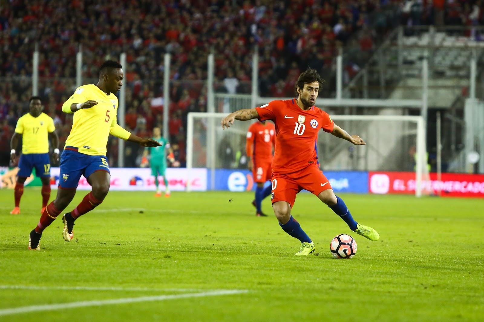 Chile y Ecuador en Clasificatorias a Rusia 2018, 5 de octubre de 2017