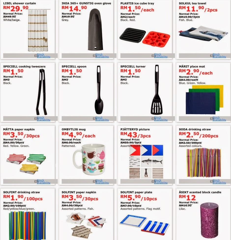 Nampaknya Sesiapa Sahaja Mampu Berping Di Ikea Pada Kali Ini Kalau Tak Percaya Boleh Tengok Senarai Barang Bawah Semuanya Jual Harga