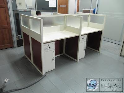 Merk Meja partisi Kantor + Furniture Semarang ( Cubicle Workstation )