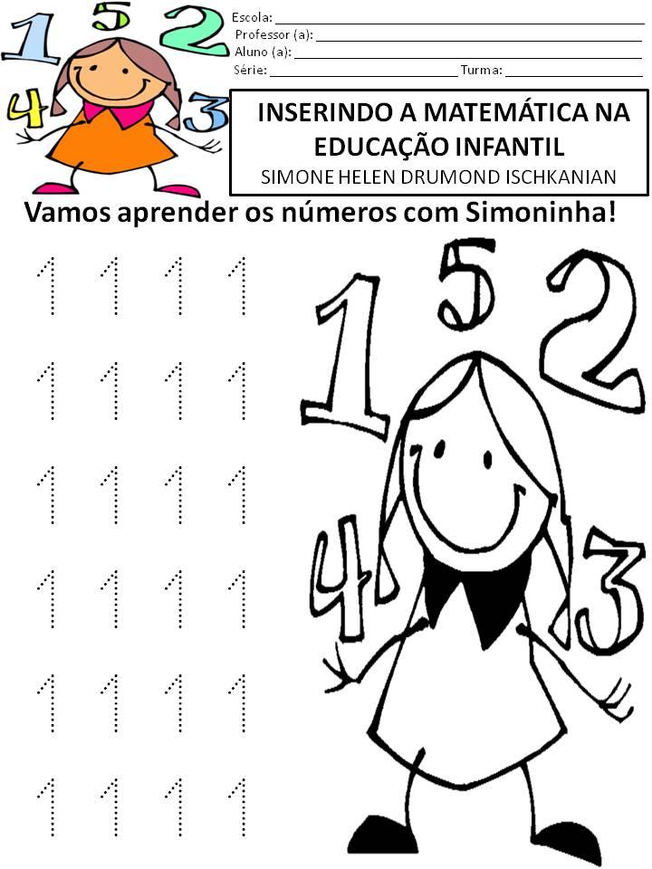 Well-known Simone Helen Drumond : INSERINDO A MATEMÁTICA NA EDUCAÇÃO INFANTIL  VE16