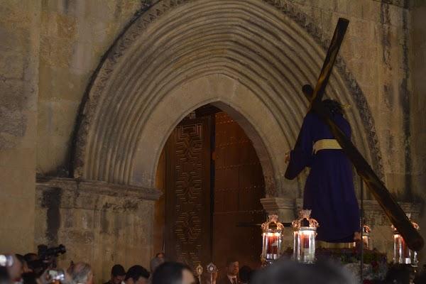 Horario e Itinerario del vía crucis de Nuestro Padre Jesús del Soberano Poder. Córdoba 01 de Abril del 2020