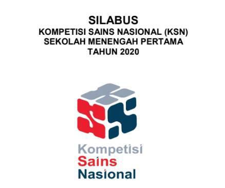 Silabus KSN SMP Tahun 2020