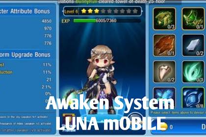 Panduan Awaken dan Mount Luna mobile Indonesia