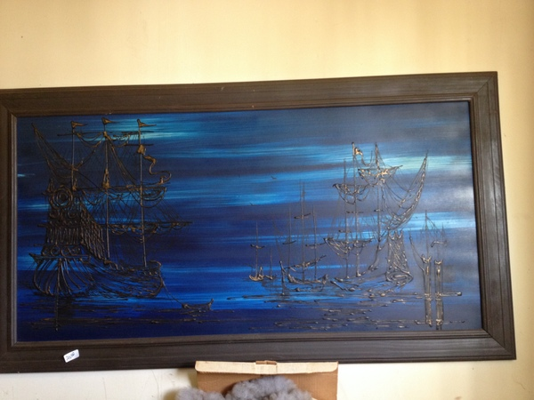 Ghost Ship Painting