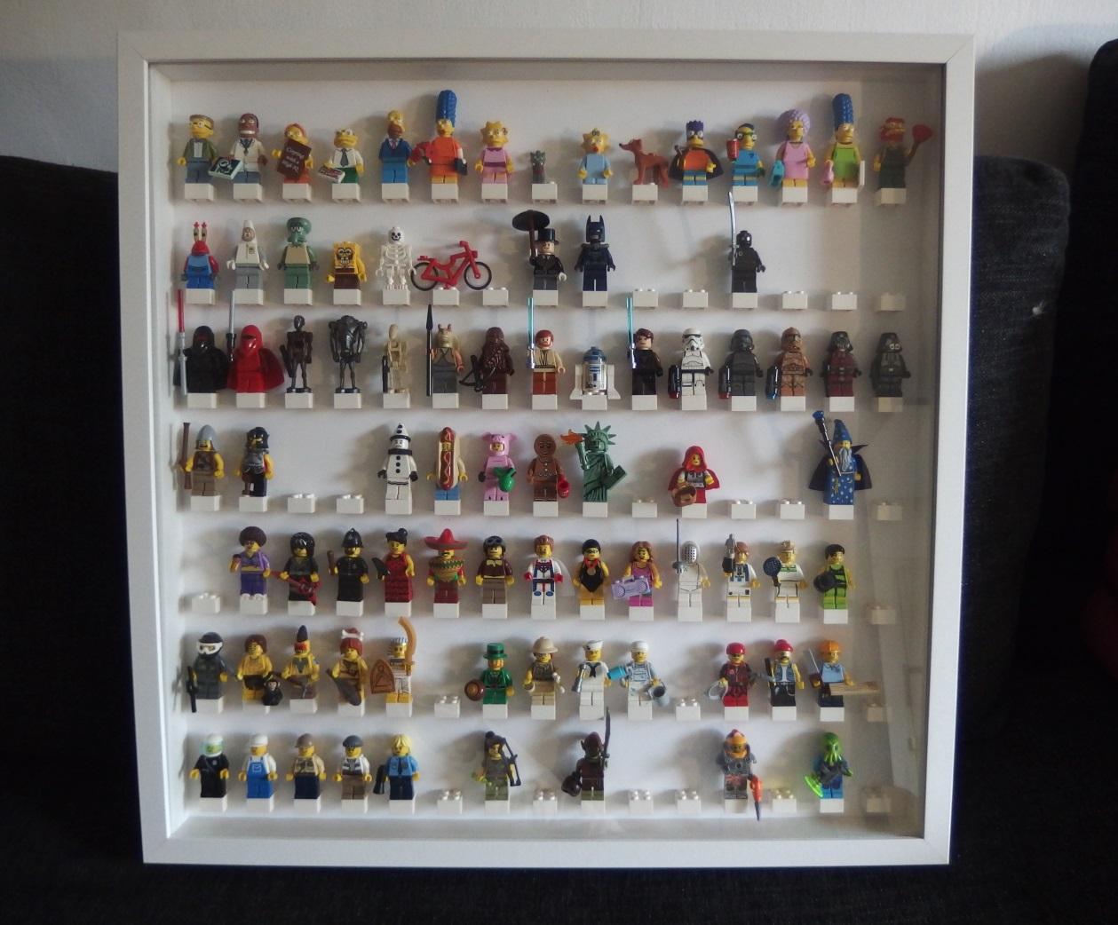 My Lego Minifigure Diy Frame Brickin Awesome