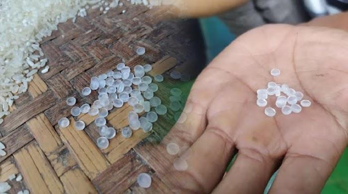 Waduh! Warga Cianjur Dapat Beras Bansos Bercampur Biji Plastik
