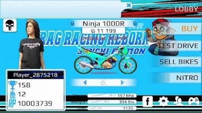 Drag Racing EVO 4 3 inchi