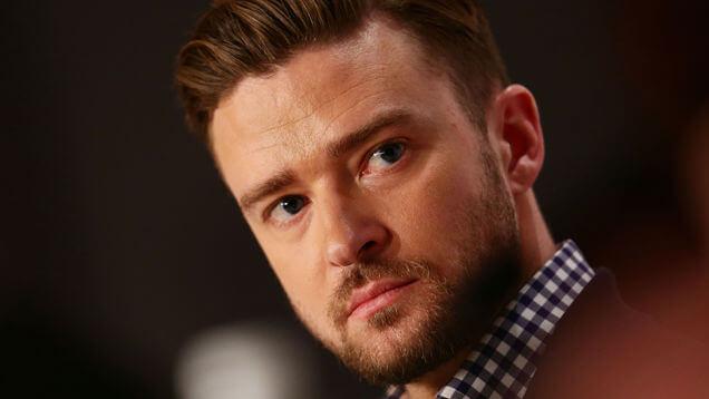 Justin Timberlake termina siendo abofeteado durante un torneo de golf (VIDEO)
