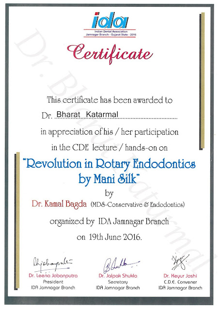 Revolution in Rotary Endodontics by Dr. Kamal Bagda