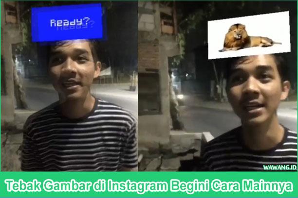 Cara Main Headquis atau Tebak Gambar di Instagram