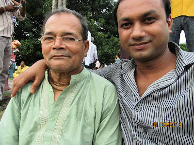 Sri Durjay Sarkar with Biswajit