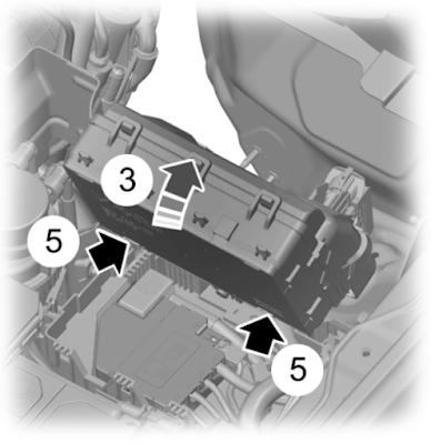 Power Distribution Box - Bottom