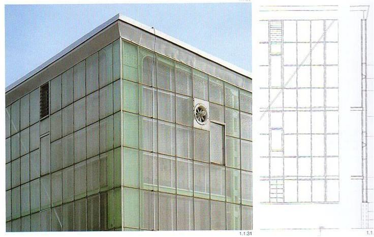 Glass Cladding | 231BEG1/Cladding system