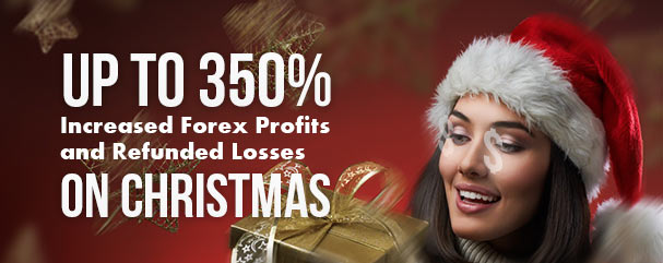 Up to 350% Christmas Withdrawable Deposit Bonus