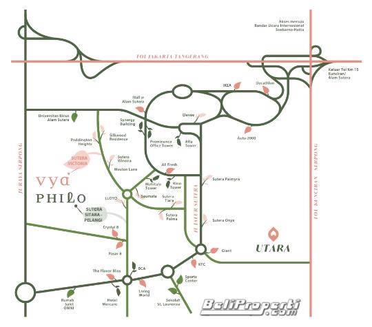 philo-vya lokasi cluster