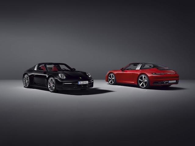 Porsche debuts the 2021 911 Targa 4 and 4S models