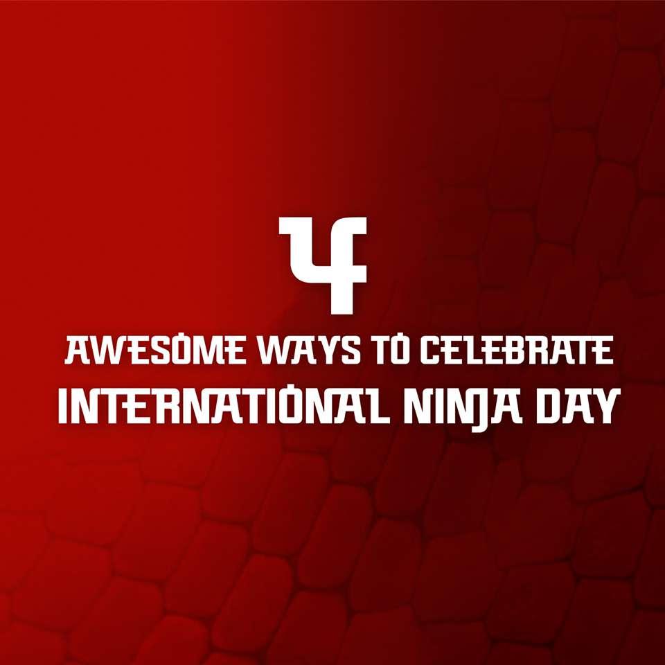International Ninja Day Wishes for Instagram