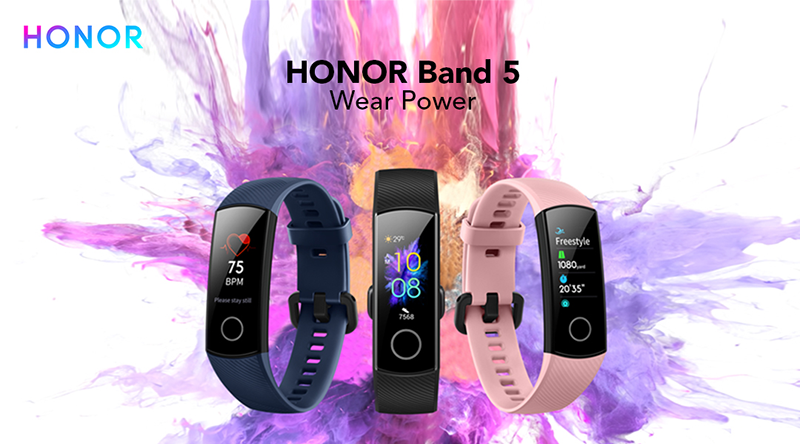 HONOR Band 5 is coming to the Philippines