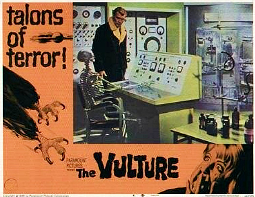 Lobby card - The Vulture, 1967