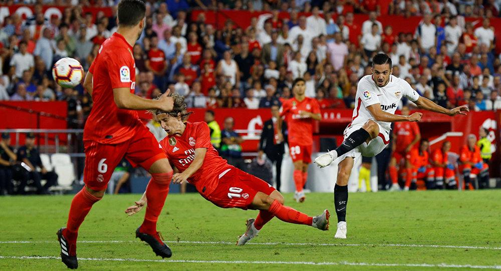نتيجة مباراة ريال مدريد واشبيلية بتاريخ 18-01-2020 الدوري الاسباني