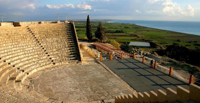 kourion theater cyprus