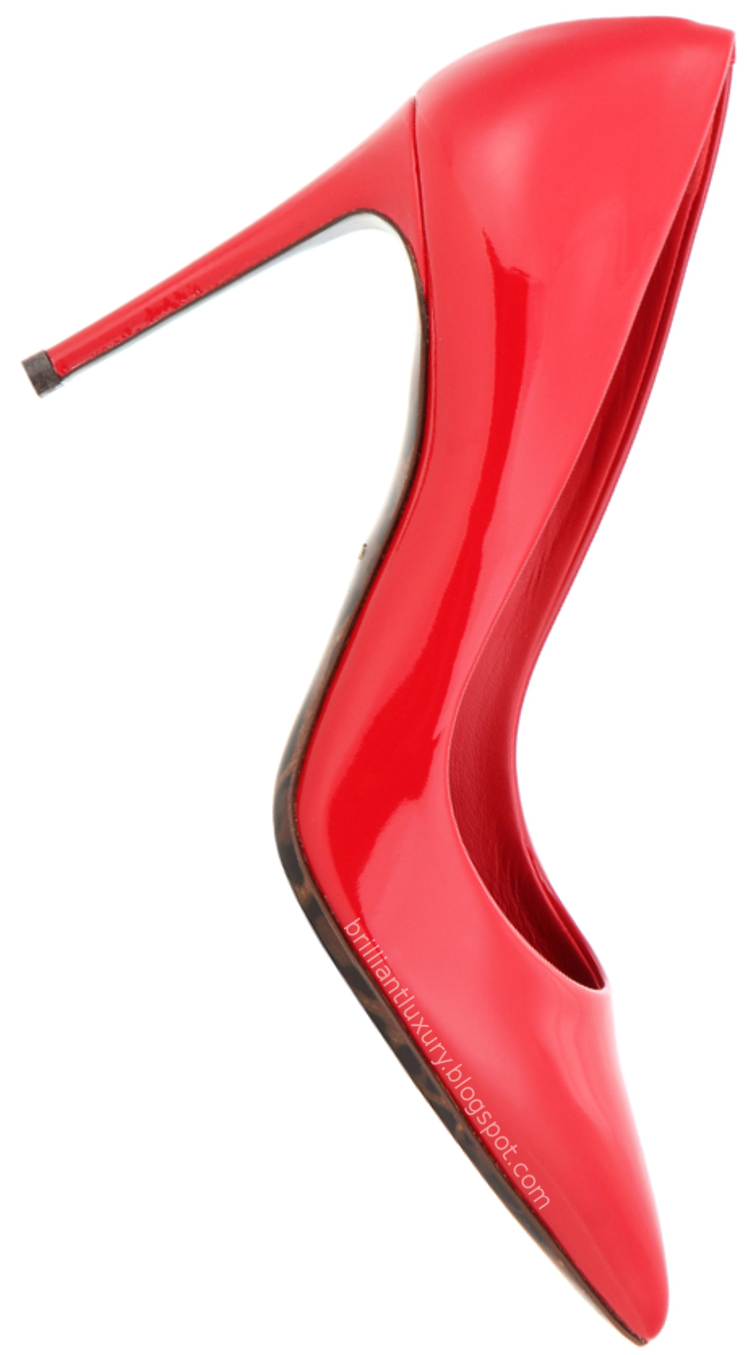 Brilliant Luxury ♦ Dolce & Gabbana red patent leather pumps