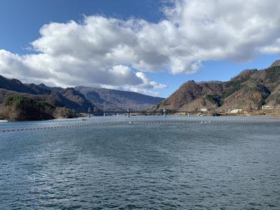 八ッ場ダム湖(あがつま湖)