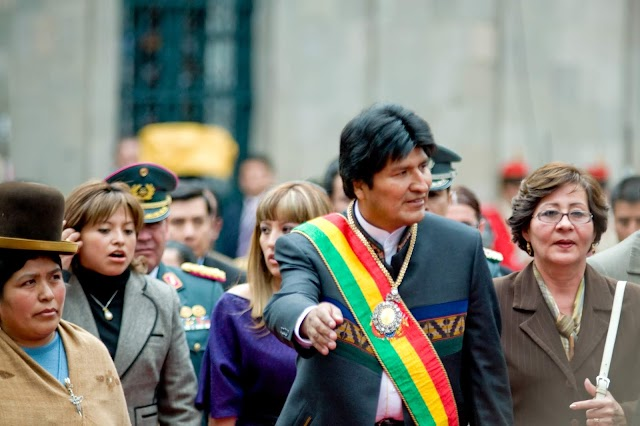 BOLIVIA: Ex-President Evo Morales accepts political asylum in Mexico