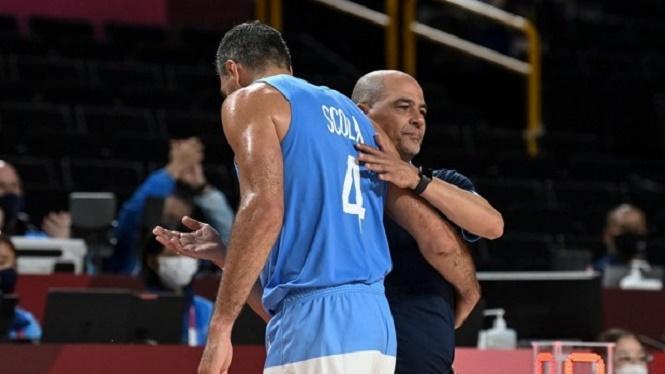 Básquet: Argentina se despidió de Tokio y también del histórico Luis Scola