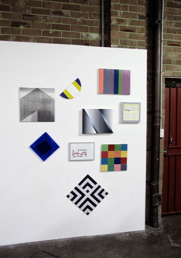 Artworks on display, Factory 49, Annual Group Show 2012