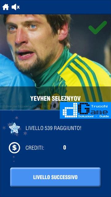 Calcio Quiz 2017 soluzione livello 531-540 | Parola e foto