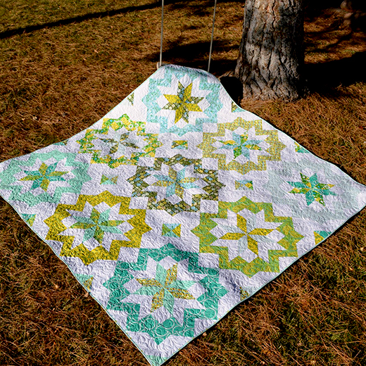 Star Surround Quilt-Along Designed by Melissa Corry of Happy Quilting Melissa
