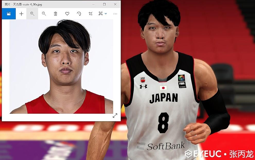 Tenketsu Harimoto Cyberface and BOdy Model (Japanese Player) by China_Zhang Binglong [FOR 2K21]