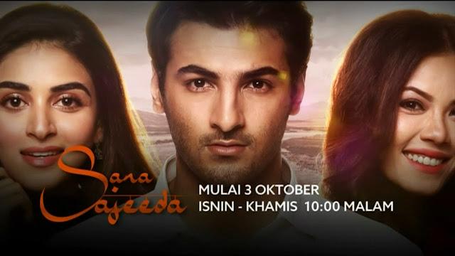 Drama Sara Sajeeda lakonan Tiz Zaqyah dan Arsalan Asad Butt
