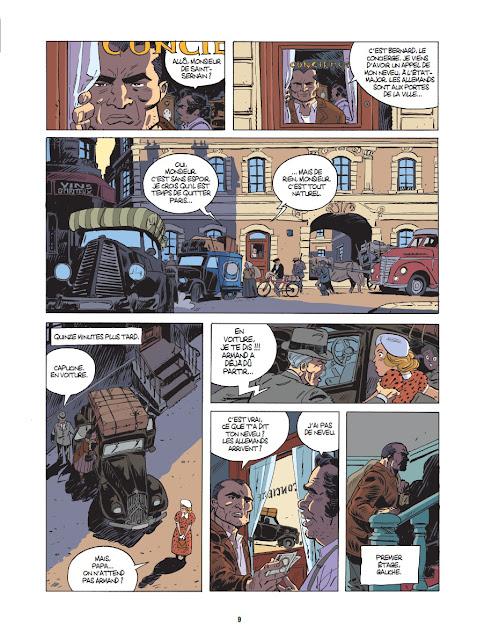 Comment faire fortune en juin 40 de Laurent Astier Xavier Dorison Fabien Nury planche 2