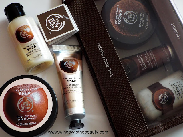 the body shop cosmetics set