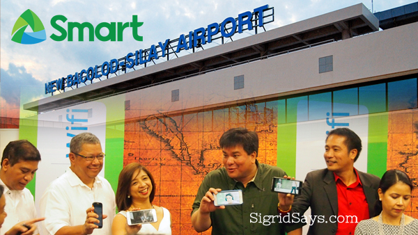 Smart wifi at Bacolod Silay Airport