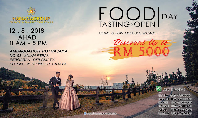 Serbu Food Tasting & Open Day Hanana Group