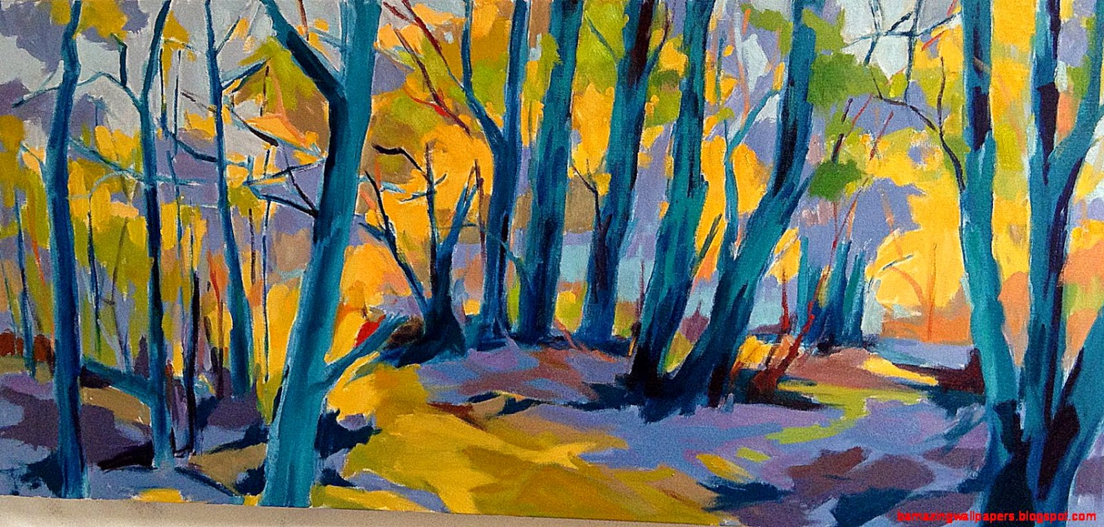 Most Famous Abstract Paintings Famous Abstract Art: Famous Abstract Tree Paintings