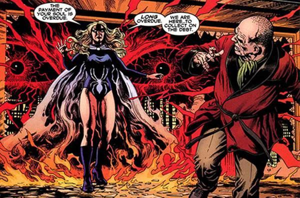 Kekuatan Black Widow (Claire Voyant) adalah