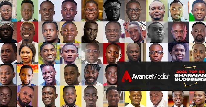 Avance Media Announces 2021 Top 50 Ghanaian Bloggers Ranking