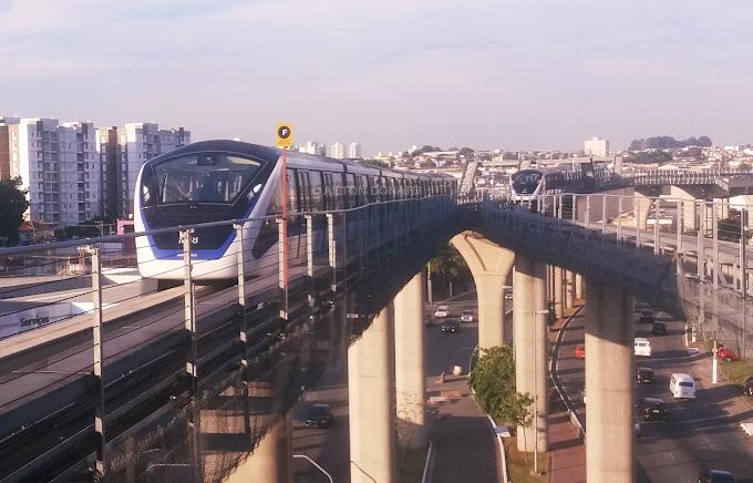 Linha 15-Prata do monotrilho seguirá operando com restrições neste final de semana