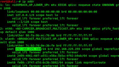 static IP adress