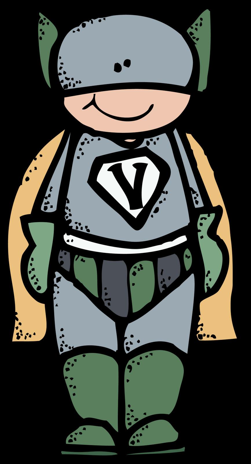 Melonheadz LDS Illustrating: Be Valiant Superheroes :)