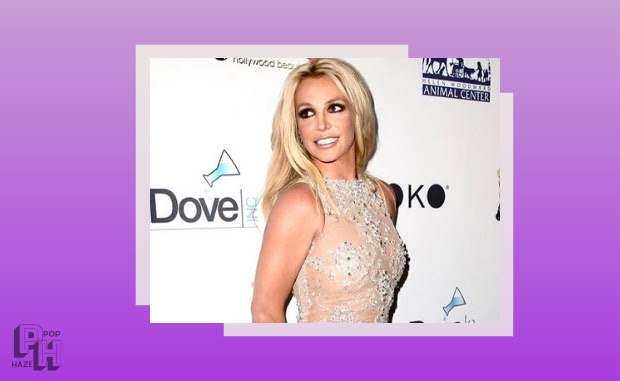 britney spears in white dress